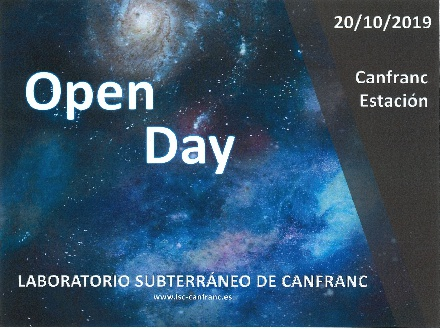 Open Day. Laboratorio Subterráneo de Canfranc