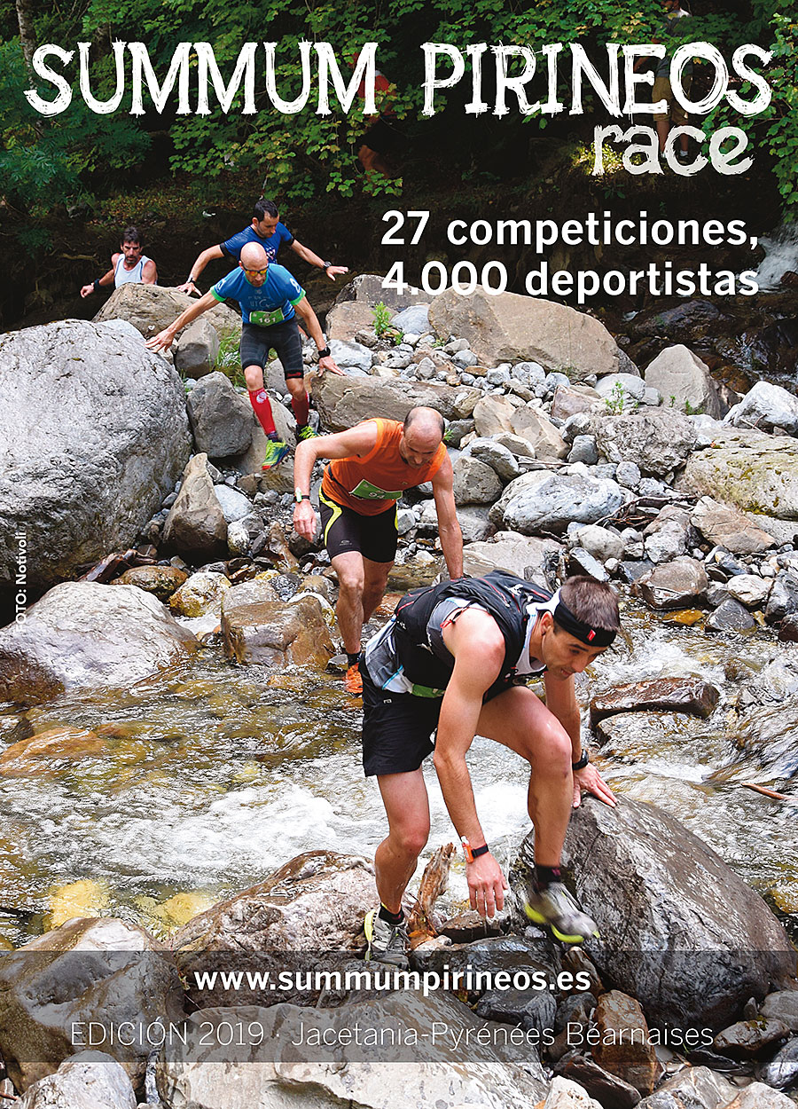 Summum Pirineos Race 2019. 27 competiciones, 4000 deportistas