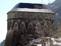 Canfranc. Fusiliers' Tower. The Watchtower
